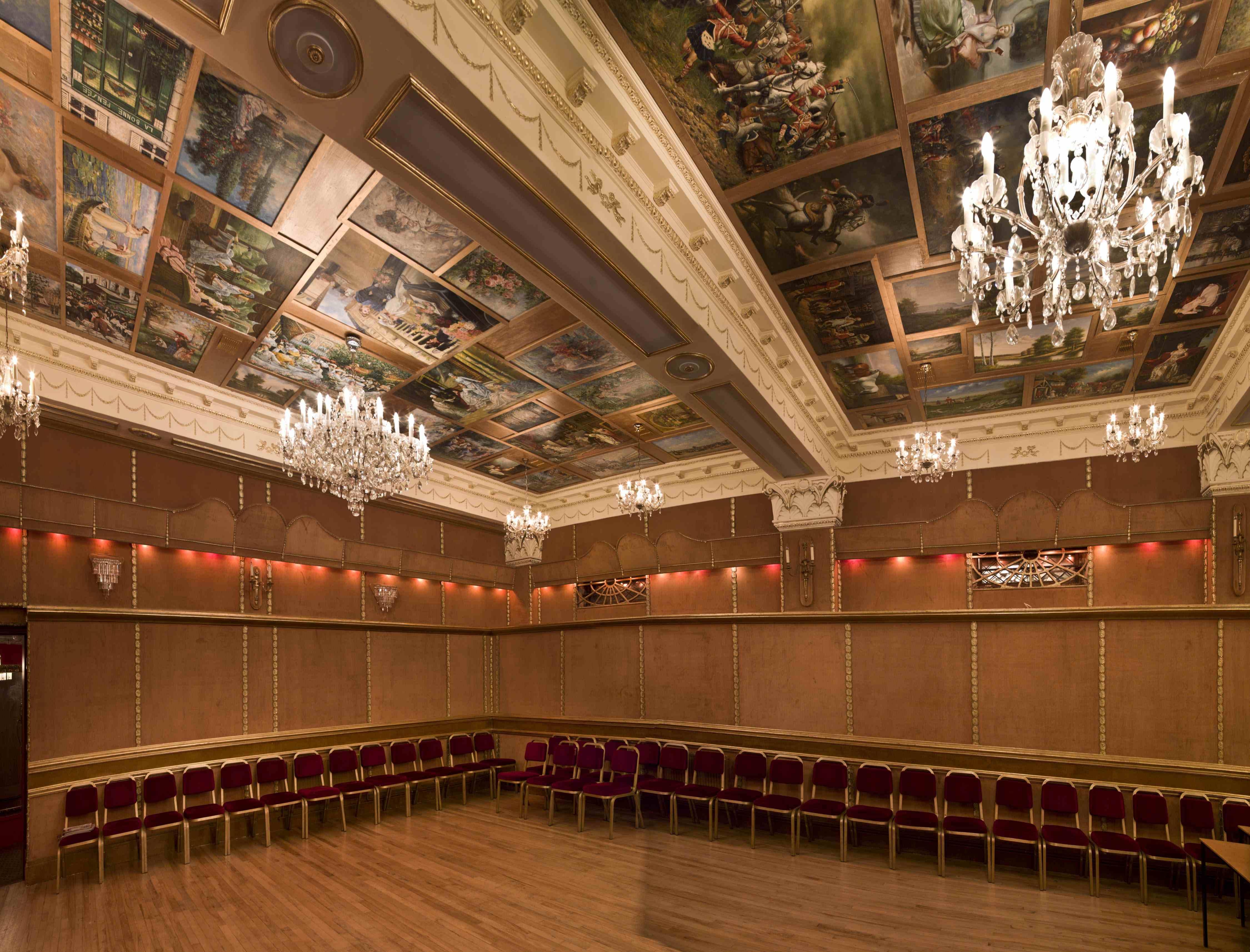 Gold ballroom