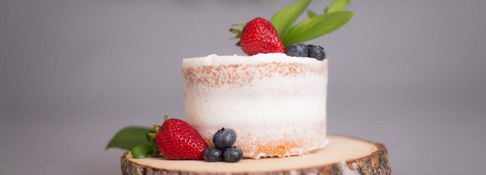 naked cake, chattanooga cake smash photographers