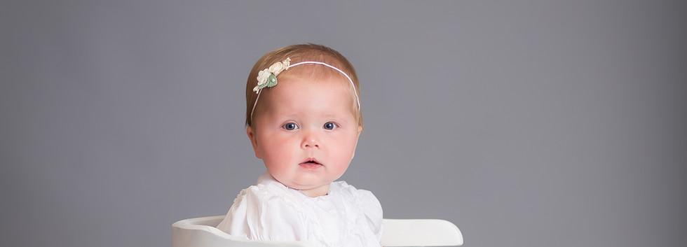 photograher Chattanooga, baby in Christening dress
