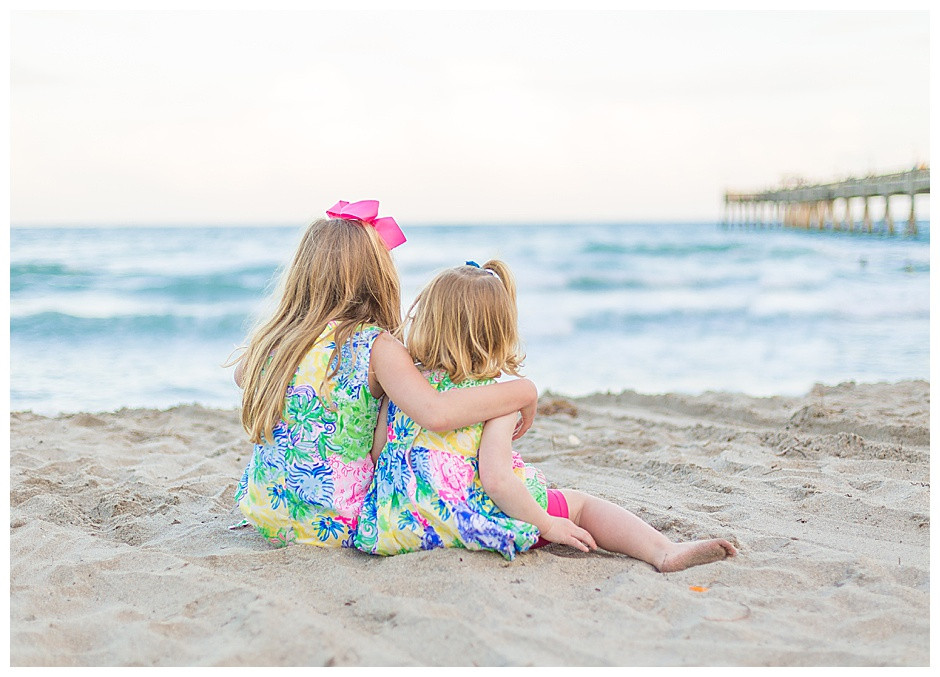 girls, beach, family photography chattanooga tennessee