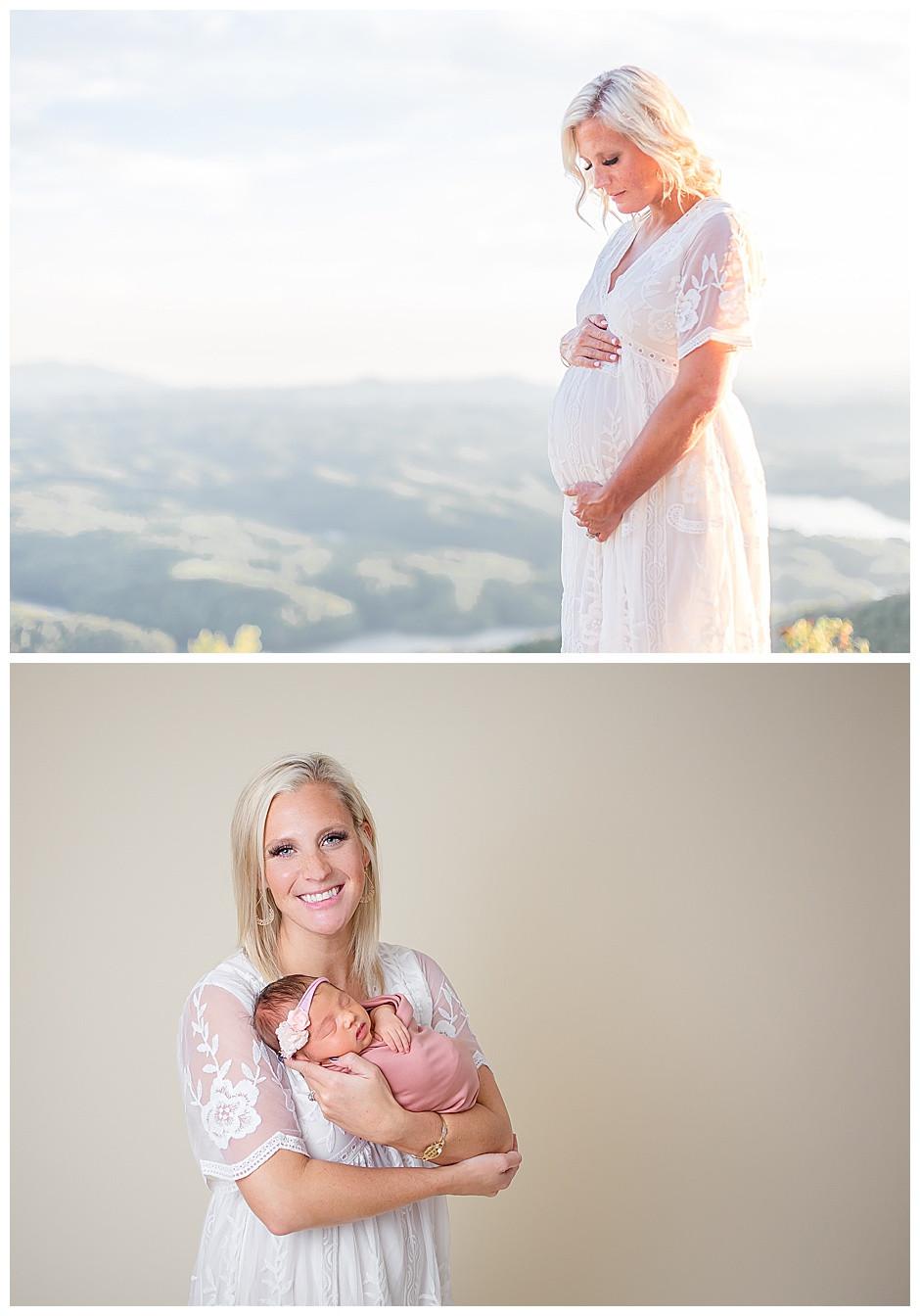maternity photographer Chattanooga, newborn photos chattanooga studio