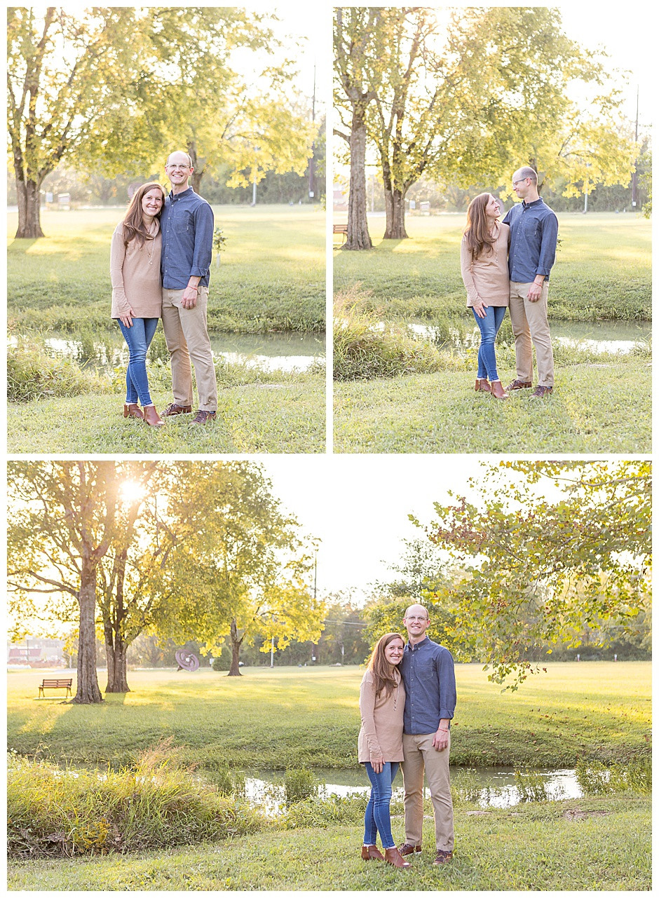 photographer Chattanooga, outdoor photo of couple at Heritage Park Chattanooga
