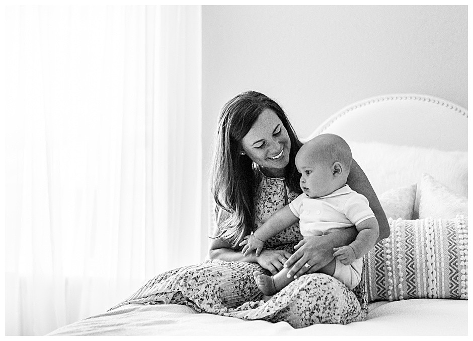 mother and son, Chattanooga baby photos, lifestyle photographer Chattanooga