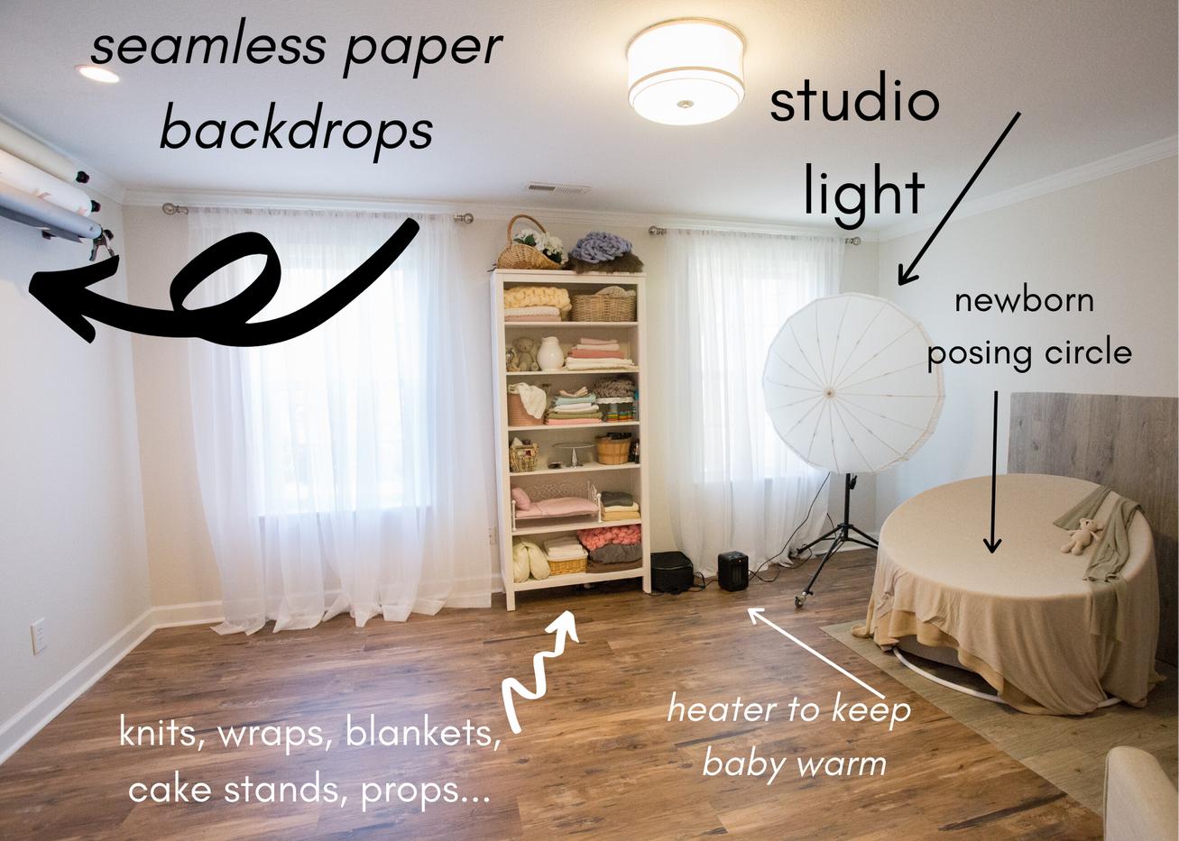 photo studio chattanooga light and airy