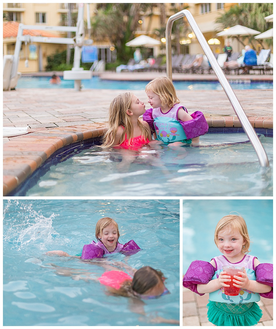 kids at pool, water, baby photographer chattanooga tn