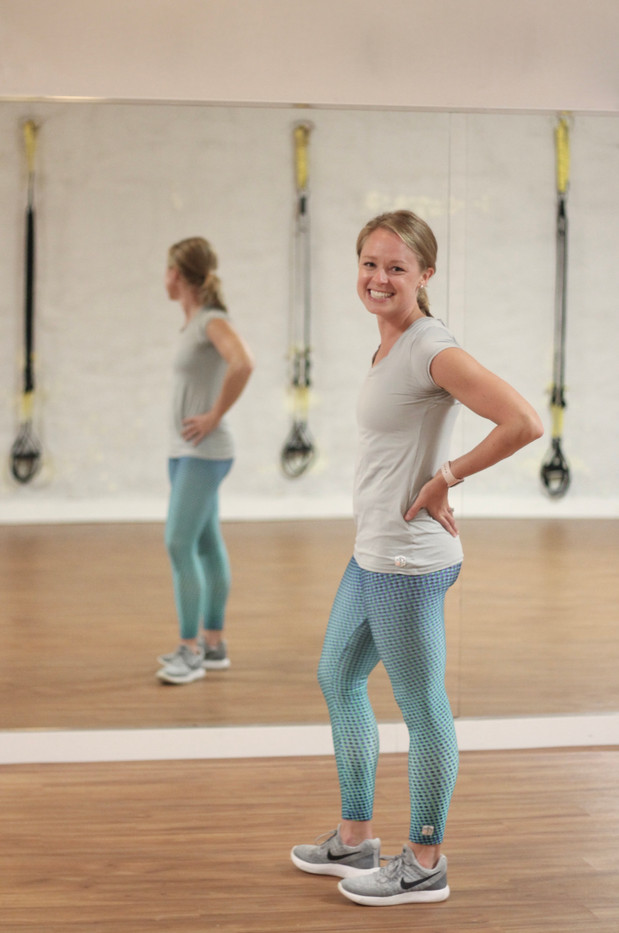 fitness coach mirror, chattanooga headshot photographer