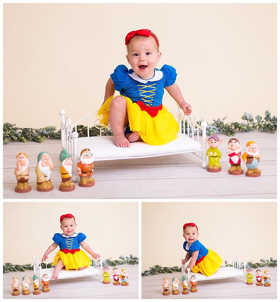 snow white, disney baby, best family photographer chattanooga