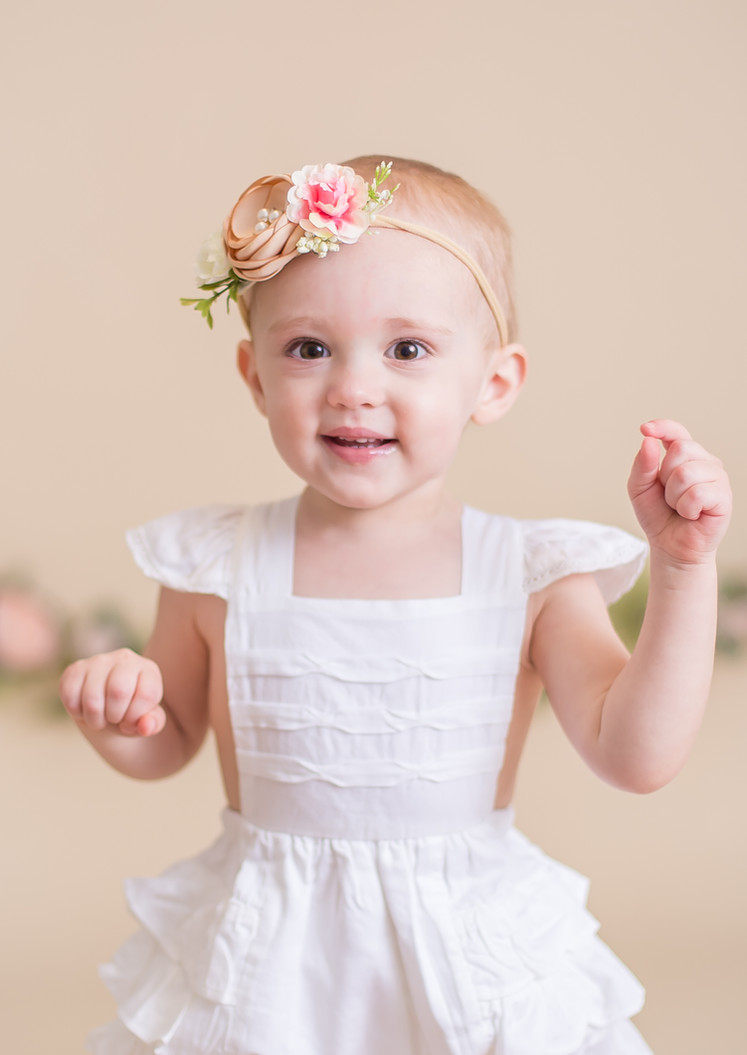 happy ruffled dress, Chattanooga family photographer