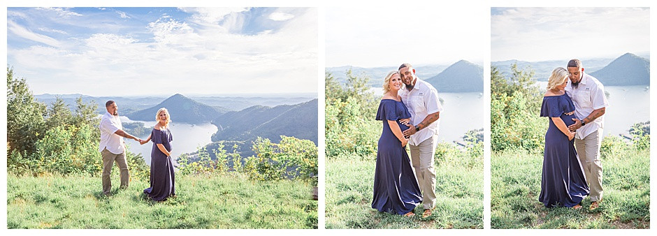 Mountain Overlook, pregnancy, Chattanooga TN maternity photos