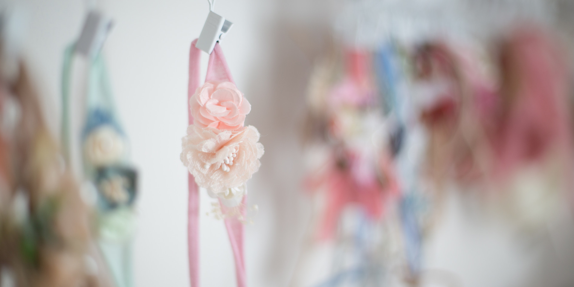 pink headband, newborn photos in chattanooga tn