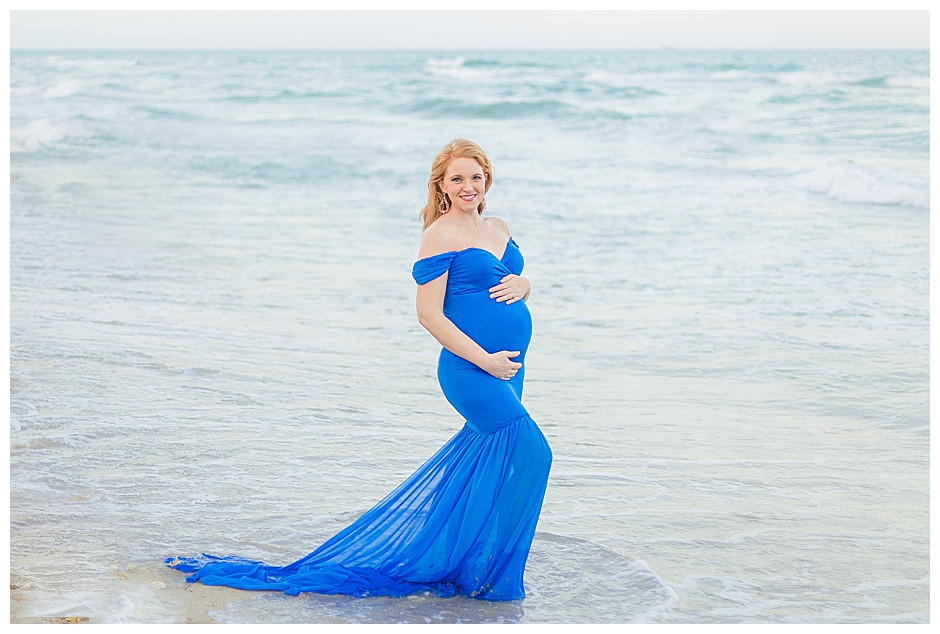 beach maternity photos, best family photographer chattanooga tn