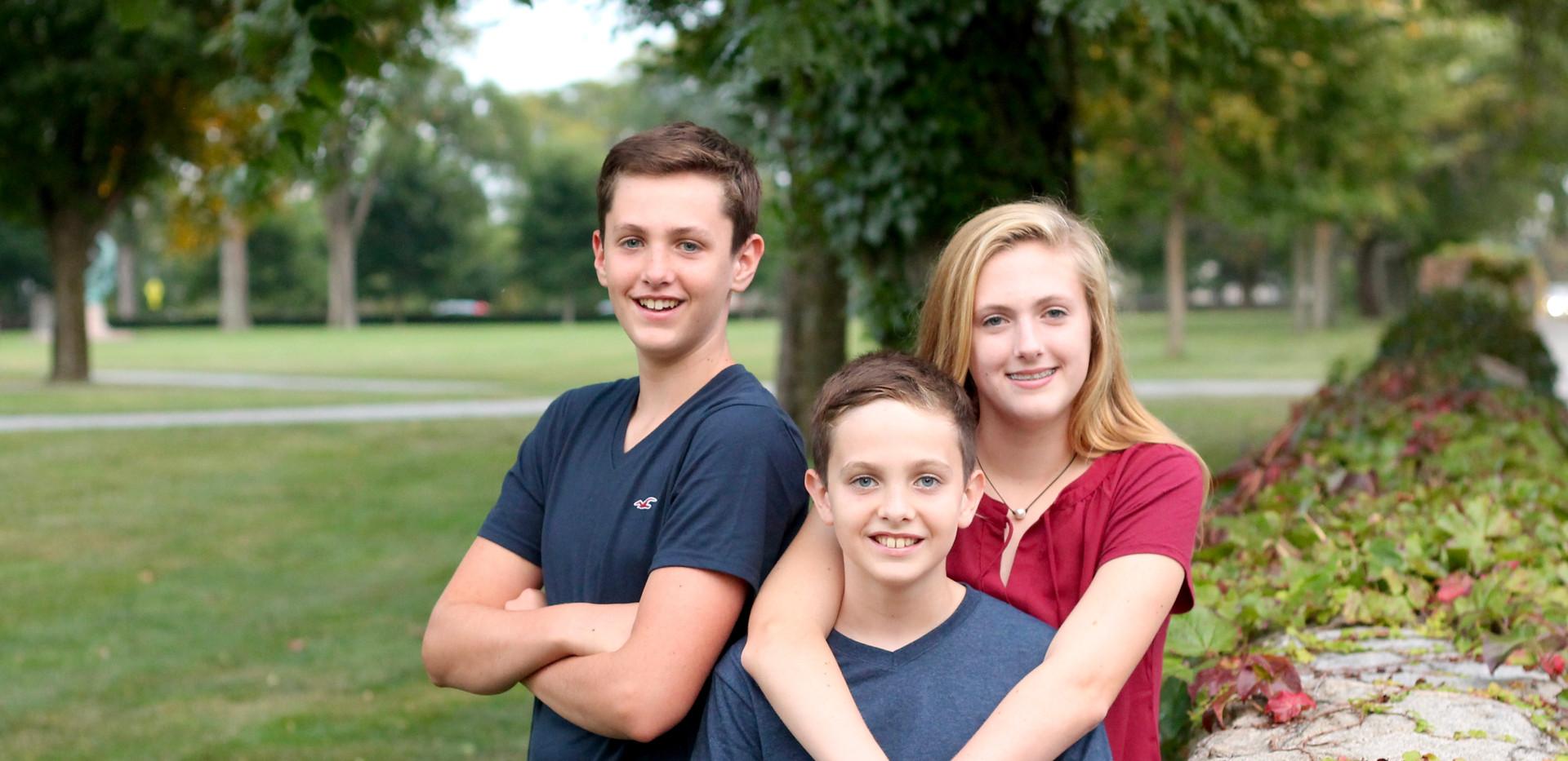 teenage siblings, Chattanooga family photographer