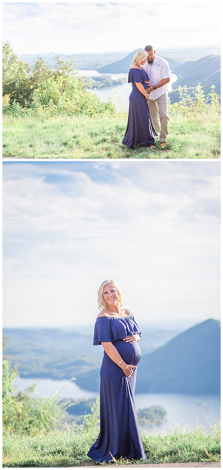 Chattanooga Maternity Photographer East Ivy Photography at Ocoee River, Chattanooga maternity photos, couples portrait, mountain vista, East Ivy Photography, Cleveland TN Maternity photographer