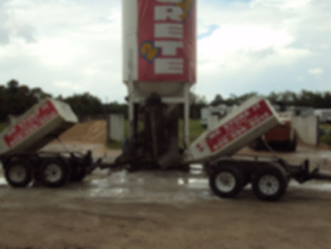 Picture of redi mix concrete