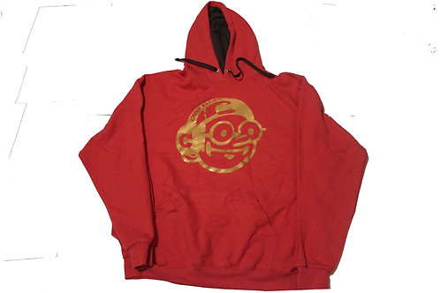 Creepnation Hooded Sweatshirt - Gold Logo