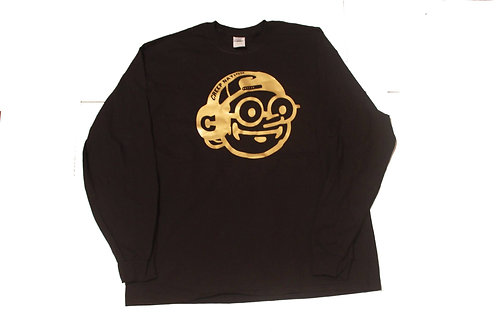 Creepnation Long Sleeve Shirt - Gold Logo