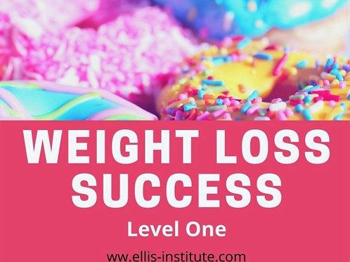 Weight Loss Success Program - Level 1
