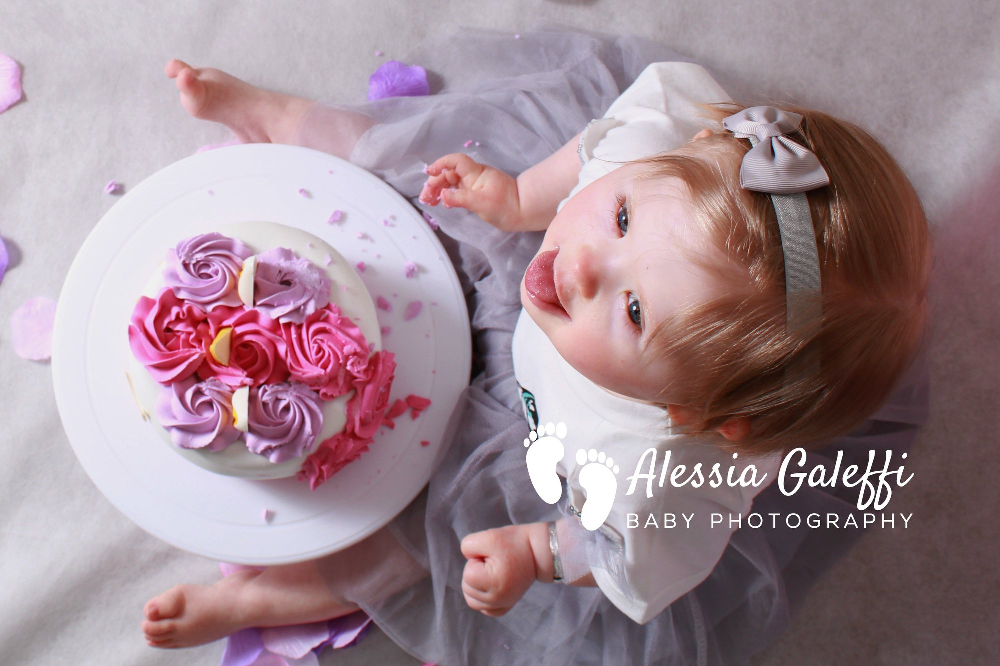 Smash Cake Aberdeen Photographer