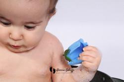 Baby Bath Photography Aberdeen