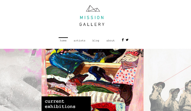 Creative Arts website templates – Modern Art Gallery