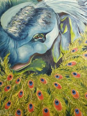 Peacock-a-phant'striumphantstrut
