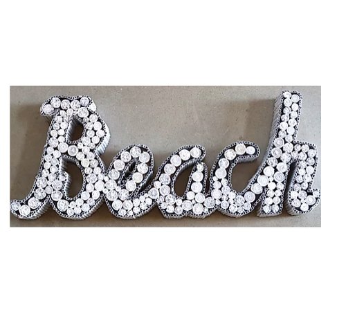 BEACH HAND-CRAFTED SIGN