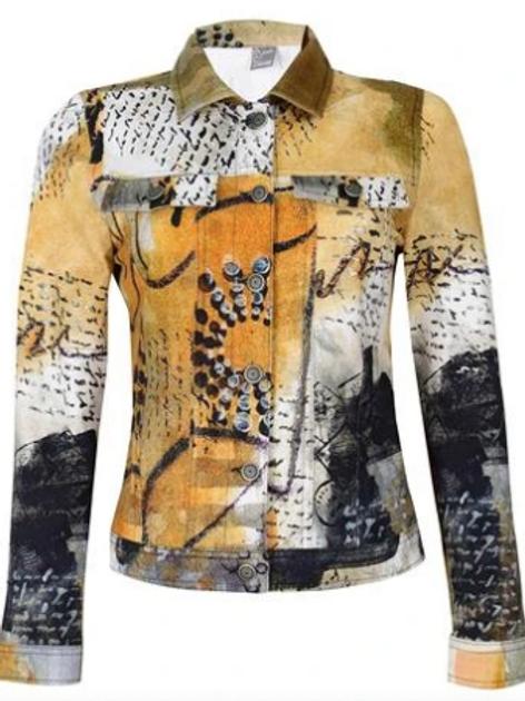 Dolcezza Art Denim Jacket