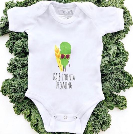 Kale-Ifornia Onsie