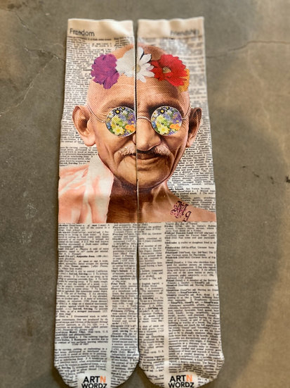 UNISEX Gandhi Urban Printed Long Socks