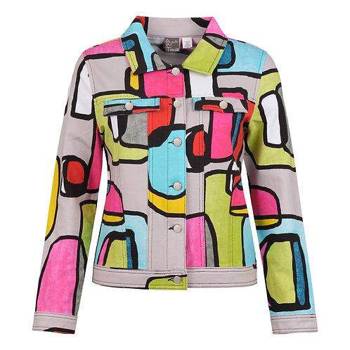 Dolcezza Modern Art Summer Jacket