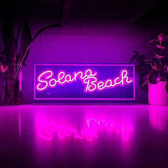 SOLANA BEACH NEON SIGN