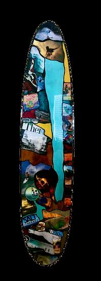 Kathleen: Surfboard Piece 3