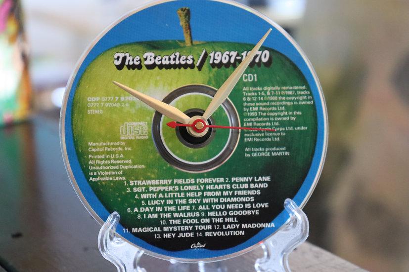 Record Clock CD: The Beatles