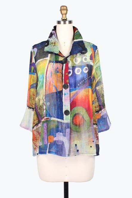 DAMEE Water Color Short Jacket 4607