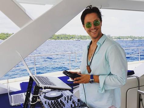 DJ Thompson St Tropez