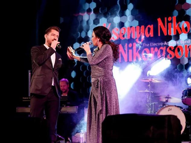 Valeriu Performing Live