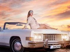 Naty - Cadillac Photo Shoot