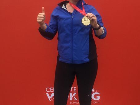 Surrey Half Marathon - completed