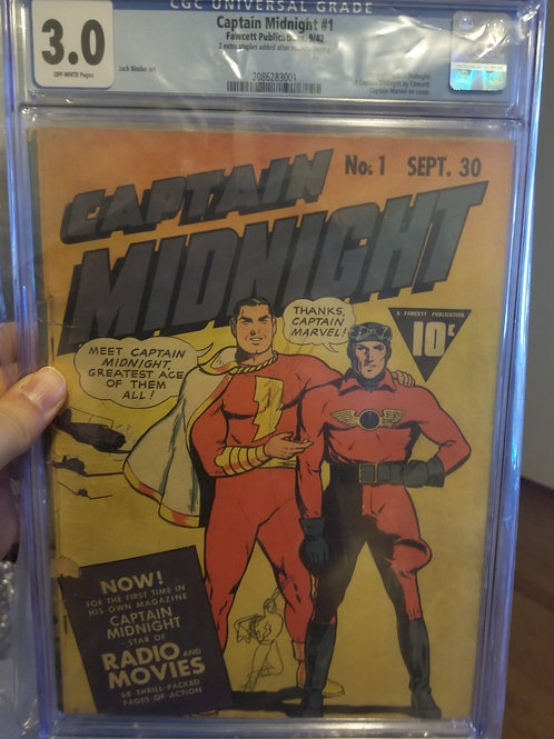 Captain Midnight #1 CGC 3.0