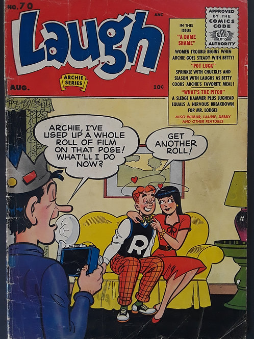 Laugh Comics #70