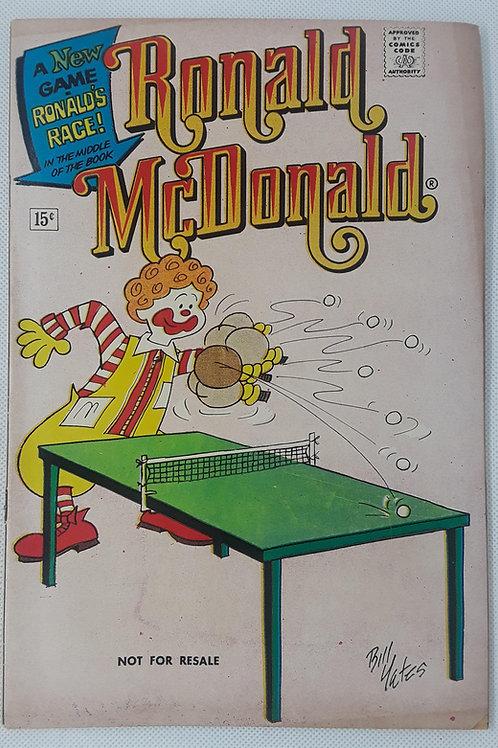 Ronald McDonald v2 #3 Rare promo copy