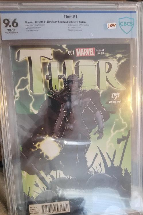 Thor #1 Newbury Variant CBCS 9.6