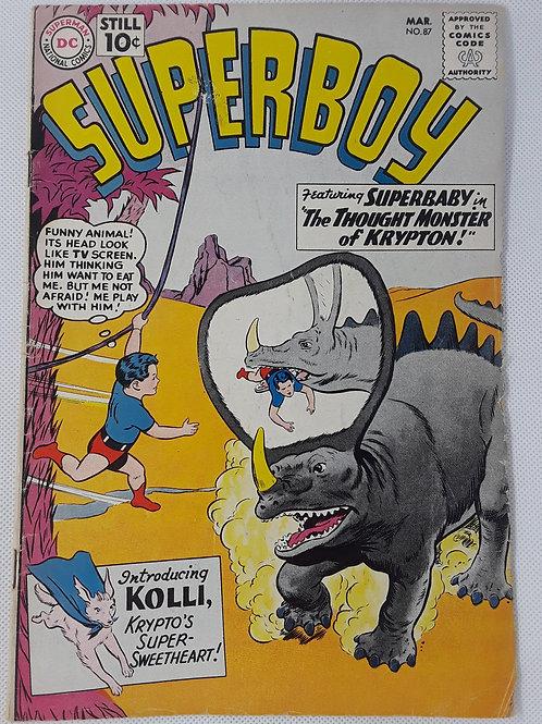 Superboy #87