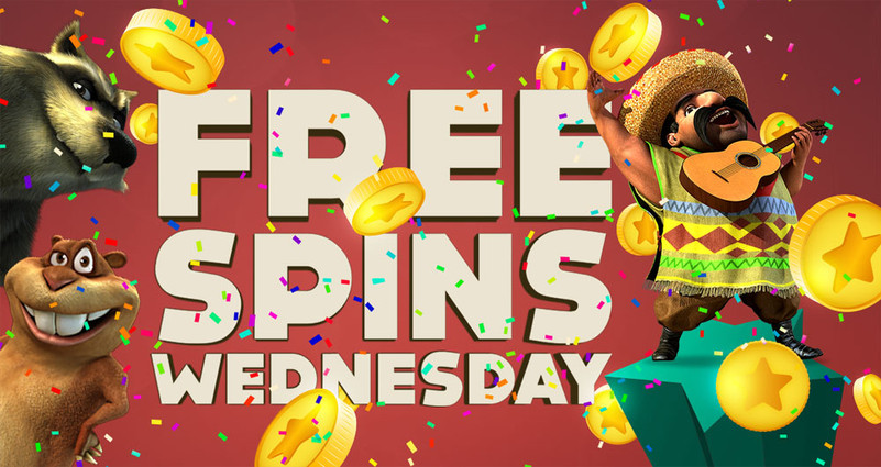 Free Spins Wednesday