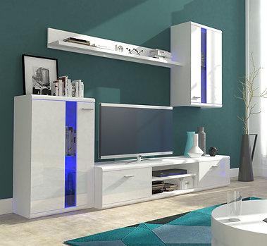 Life Living Room Furniture Set White