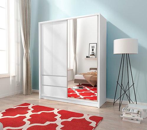 Sara  Sliding 2 Door Wardrobe 150cm width