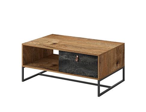 Dark coffe table