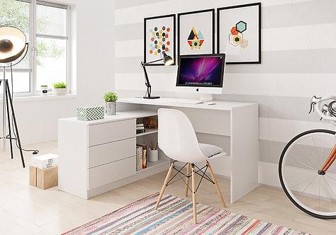 Teo Desk WHITE