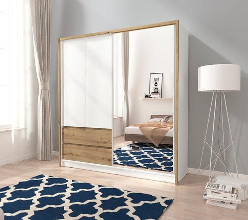 Sara  Sliding 2 Door Wardrobe 200cm width