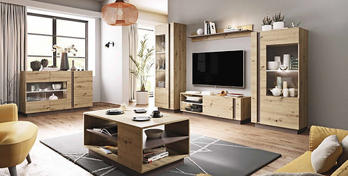 Arco Living Room Artisan Oak Set 1